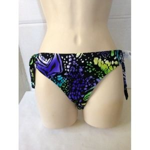 NWT REEF Tie Side Bikini Bottom FLOWER #124
